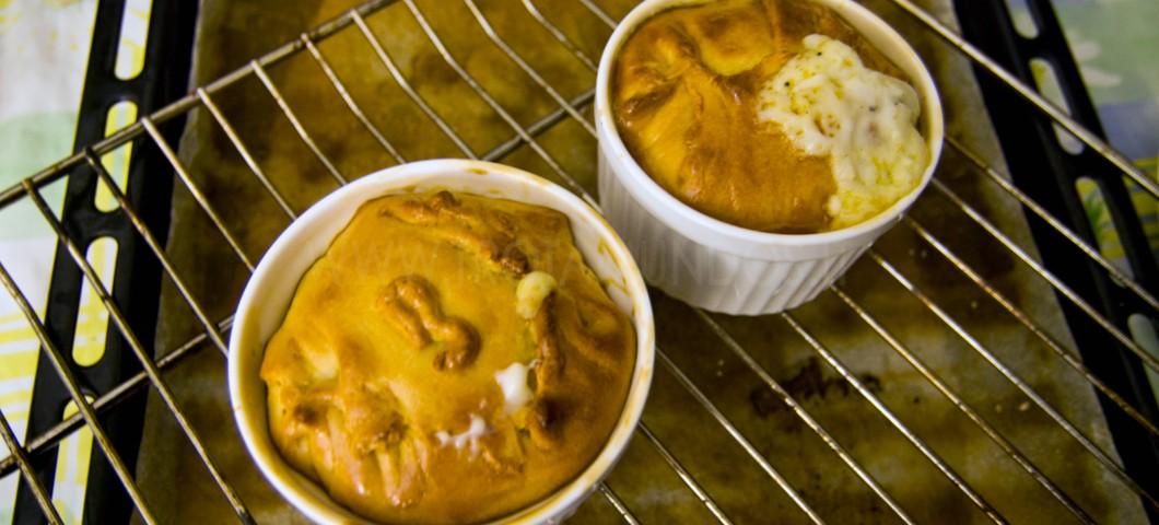 tortino con salsiccia