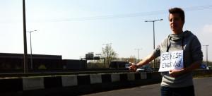 viaggio in autostop in Ungheria